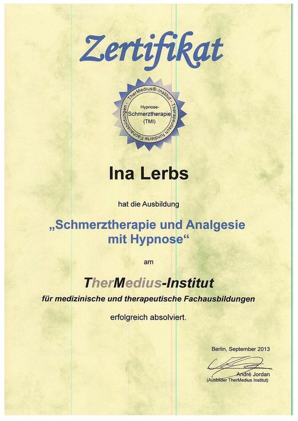 Schmerztherapie und Analgesie mit Hypnose